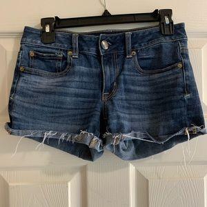 American Eagle denim shorts shortie